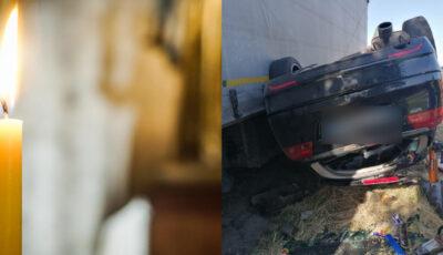 Durere fără margini la Echimăuți. Femeia decedată în accidentul din Cluj urma să împlinească mâine 30 de ani. Copilul de 10 ani încă nu știe că a rămas orfan