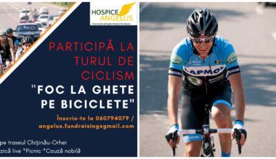 """Start turului """"Foc la ghete pe biciclete"""". Cicliștii care doresc să participe sunt așteptați la eveniment!"""
