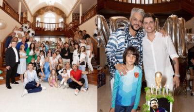 Filip Kirkorov a dat o petrecere spectaculoasă de ziua de naștere a fiului său! Natalia Gordienko, Jasmin, Timati, printre invitați