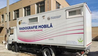 Puncte mobile de screening mamar, pulmonar şi servicii stomatologice, în mai multe localități din țară