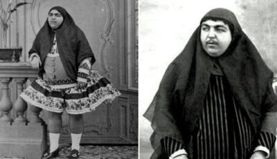 Fatemeh Khanum, prințesa cu mustață care era considerată un etalon al frumuseții