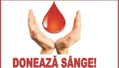 """,,Împreună suntem eroi"""" – de ziua mondială a donatorului, cetățenii sunt îndemnați să se alăture Campaniei de donare voluntară de sânge"""