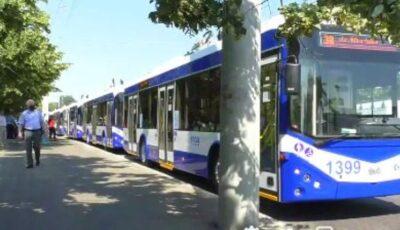 În Chișinău a fost inaugurată linia de troleibuz nr. 38