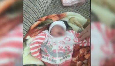 Bebelușul abandonat de mamă într-un cămin din capitală are o familie nouă