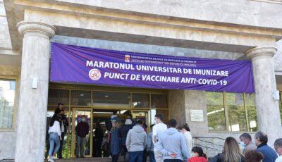 USMF Nicolae Testemiţanu organizează un nou maraton de vaccinare anti-Covid-19