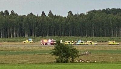 Tragedie în Suedia. Mai mulți morți după ce un avion s-a prăbușit în apropiere de aeroport