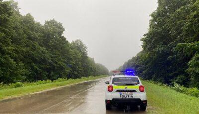 Cod Galben de ploi cu fulgere. Recomandările INSP pentru șoferi