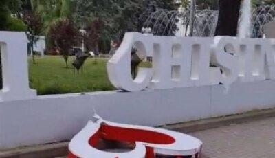 Mai multe locuri din Chişinău au fost vandalizate