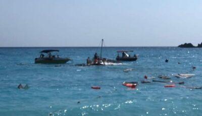 O barcă cu turiști s-a scufundat în Turcia. Un copil de 2 ani s-a înecat