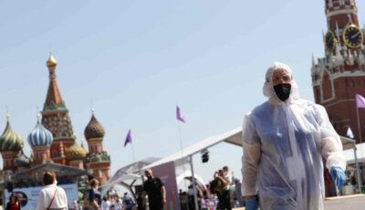 Rusia raportează peste 25.000 de infectări cu Covid și 787 de decese, într-o zi