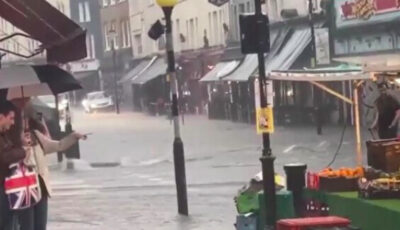 O ploaie torențială a provocat inundații de proporții la Londra