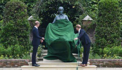 La Londra a fost dezvelită statuia prințesei Diana