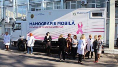 Peste 1.000 de femei din Moldova au făcut gratuit screening mamar