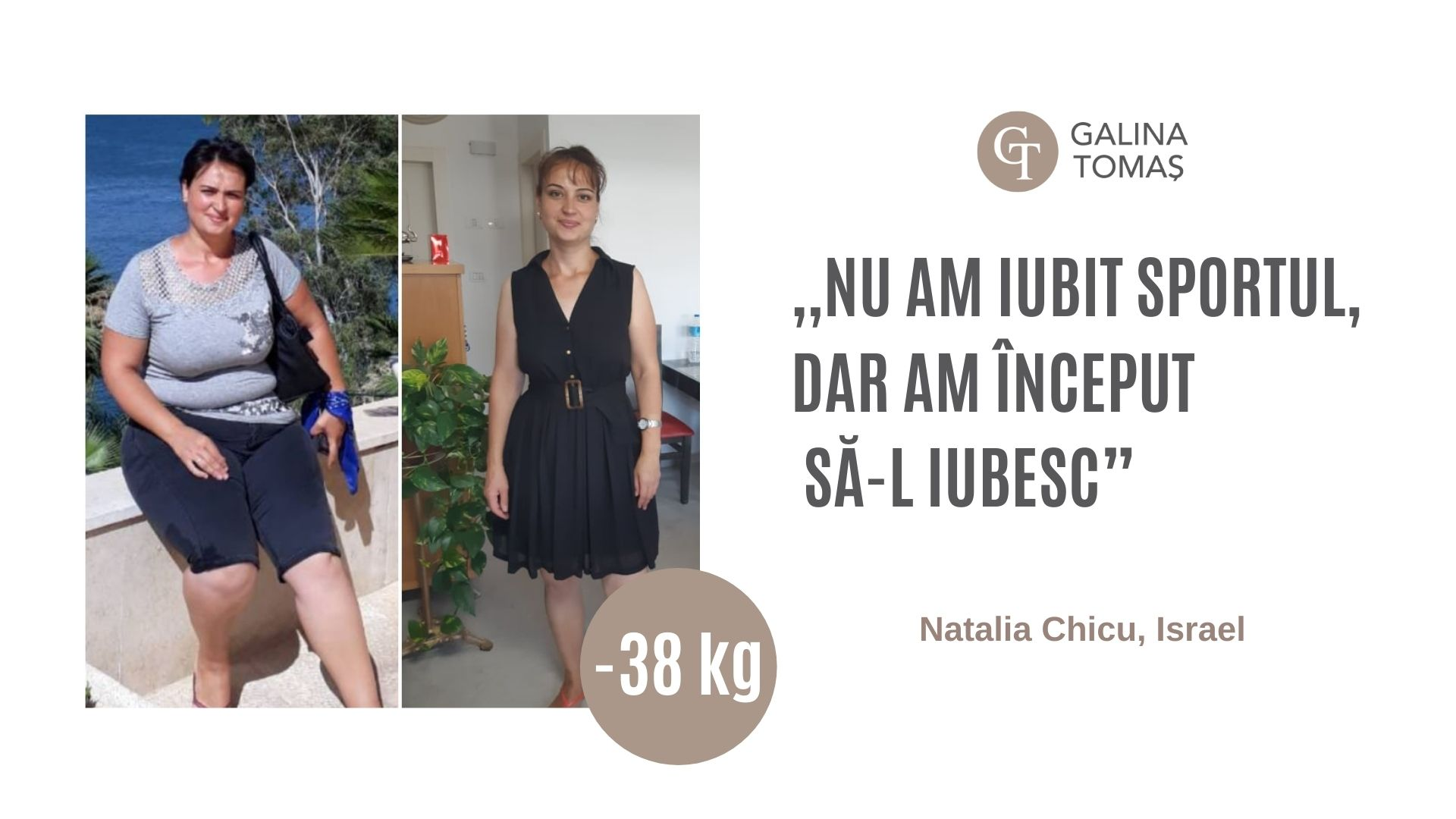 Foto: A schimbat rutina ei zilnică și a reușit să slăbească 38 de kilograme!