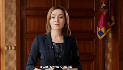 """Maia Sandu, apel către cetățeni: ,,Ieșiți la vot pe 11 iulie!"""""""