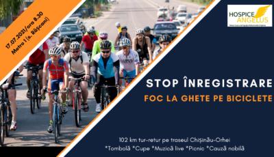 60 de bicicliști vor pedala în susținerea copiilor și adulților cu maladii incurabile din Republica Moldova