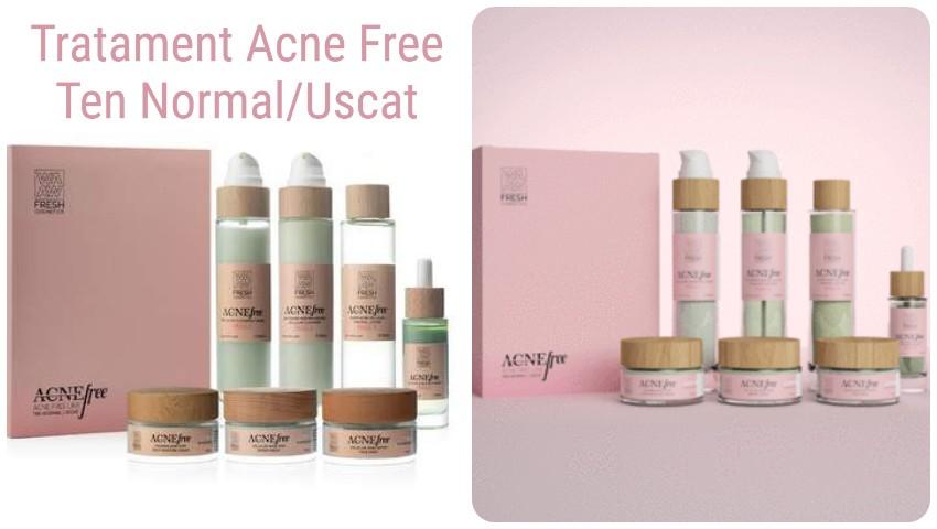 Foto: Cel mai eficient tratament antiacneic pe bază de ingrediente naturale ce conține un set de 7 produse cosmetice