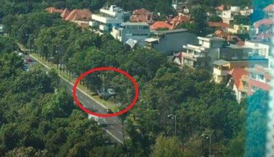 Ultima oră: Un elicopter a aterizat forțat într-o intersecție aglomerată din București