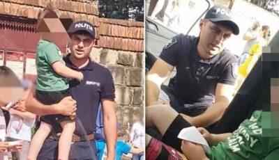 Un copil de 4 ani s-a pierdut ieri în capitală