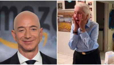 O femeie de 82 de ani îl va însoți pe Jeff Bezos în spațiu, pe 20 iulie
