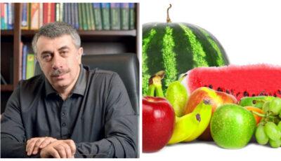 Dr. Komarovsky explică cum să le dăm fructe copiilor și dacă putem să le dăm multe