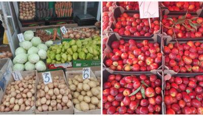Care sunt preţurile la legume şi fructe la Piața Centrală din Chișinău
