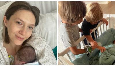 """Adela Popescu a dezvăluit în detaliu cum a decurs nașterea celui de-al treilea copil: ,,Îmi doream tare de tot epidurala"""""""