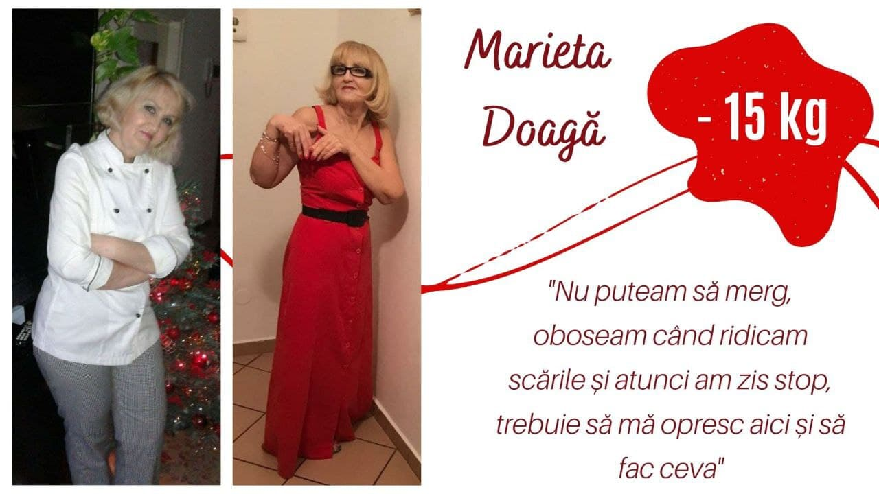 Foto: Marieta Doagă, femeia care a slăbit cu 15 kg alegând stilul sănătos de viață!