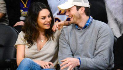"""Mila Kunis și Ashton Kutcher își spală copiii doar când """"se vede murdăria pe ei"""". De ce?"""