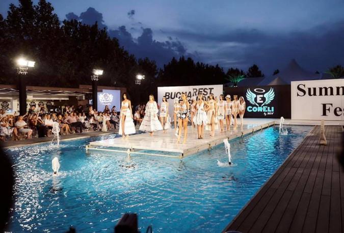 Un designer de la noi a cucerit podiumul de la Bucureşti cu costume de baie inedite