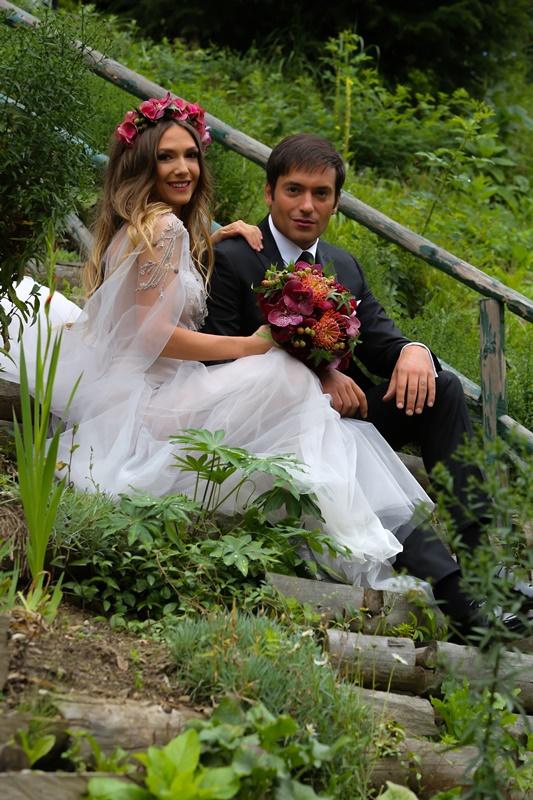 Foto: Şase ani de iubire în familia Adelei Popescu şi Radu Vâlcan