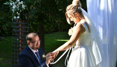 Jurnalista Cristina Vicol s-a căsătorit cu alesul inimii