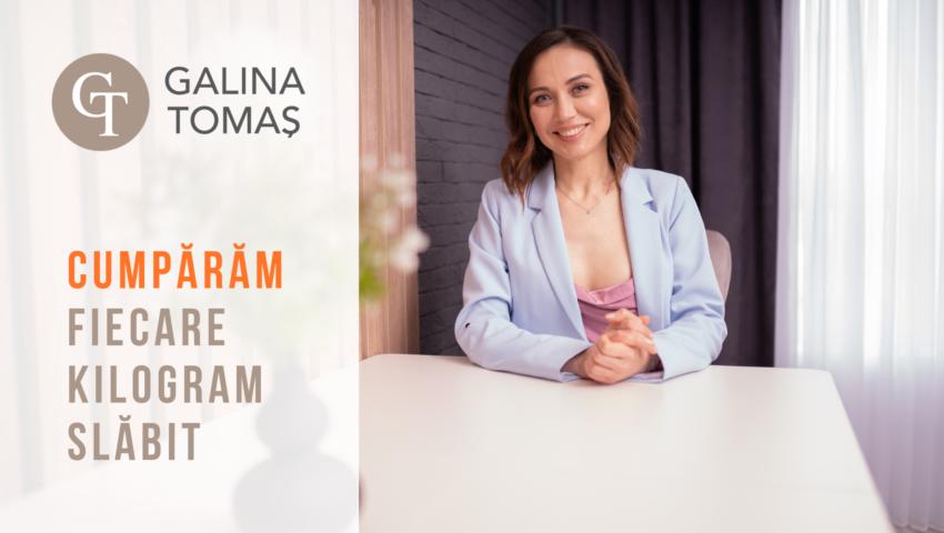 De ce Galina Tomaș îți cumpără kilogramele?