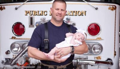 Povestea pompierului care a asistat o gravidă aflată în dificultate, iar apoi i-a adoptat fetiţa