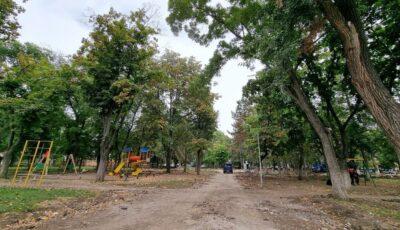 Un parc din sectorul Poșta Veche va fi reabilitat și renovat