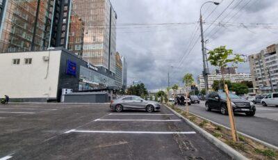 O nouă parcare auto, în centrul Capitalei. Sunt disponibile circa 80 de locuri