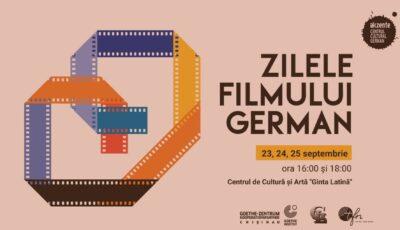 Zilele Filmului German la Chișinău: șase producții pe care le poți viziona gratuit la Teatrul Ginta Latină