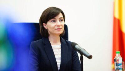 Maia Sandu pleacă la New York. Președinta Republicii Moldova va participa la Adunarea Generală a ONU