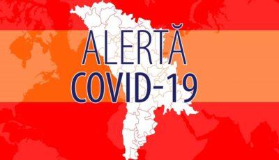 Raioanele în care s-a instituit cod roșu și portocaliu de alertă epidemiologică Covid-19