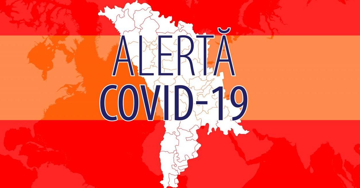 Foto: Raioanele în care s-a instituit cod roșu și portocaliu de alertă epidemiologică Covid-19