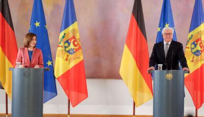 Președintele Germaniei va vizita Republica Moldova la sfârșitul lunii septembrie