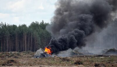 Un elicopter al serviciilor secrete ruse s-a prăbușit. Nu se știe nimic despre persoanele aflate la bord