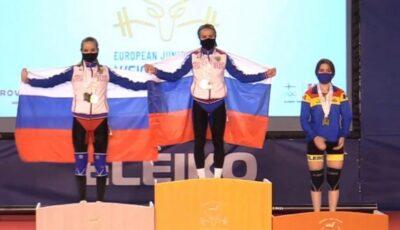 Moldoveanca Concordia Butnari a obținut medalia de bronz la Campionatul European din Finlanda