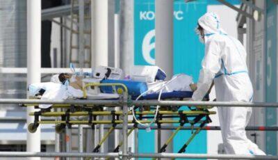 Rusia, bilanț negru: 820 de persoane au murit din cauza Covid-19 în ultimele 24 de ore,