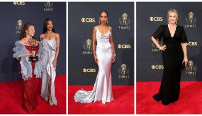 Premiile Emmy 2021: Cele mai spectaculoase ținute purtate de vedete pe covorul roșu