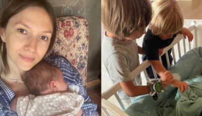 Soțul Adelei Popescu și mezinul de 2 luni, infectați cu Coronavirus. Cum se simt cei doi membri ai familiei?