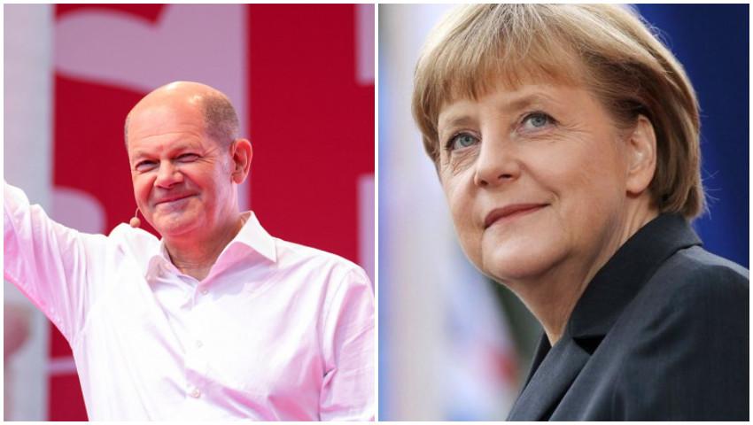 Foto: Rezultate alegeri Germania. Social democrații au învins la limită coaliția Angelei Merkel