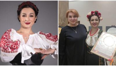 """Interpreta Dana Markitan a obținut premiul I la Festivalul Internațional de muzică ,,Vocea Orașelor Vechi"""" din Rusia"""
