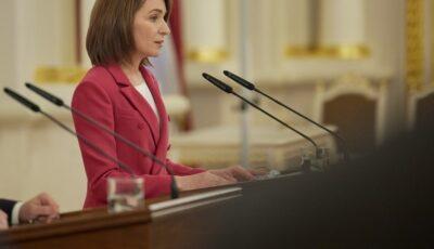 O inițiativă a Maiei Sandu va scuti moldovenii de majorarea tarifului la gazele naturale