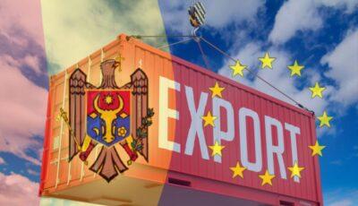 Exportul din Moldova este în creştere faţă de anul 2020. Țările în care ajung mărfurile și produsele